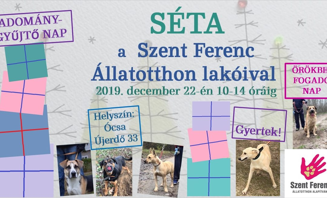 ADVENTI SÉTA ÓCSÁN – 2019. 12. 22.